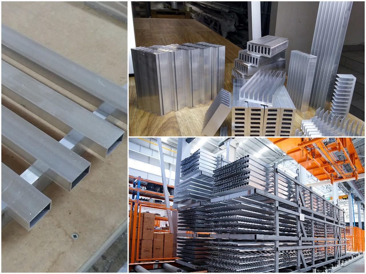 Custom aluminium extrusion Supplier