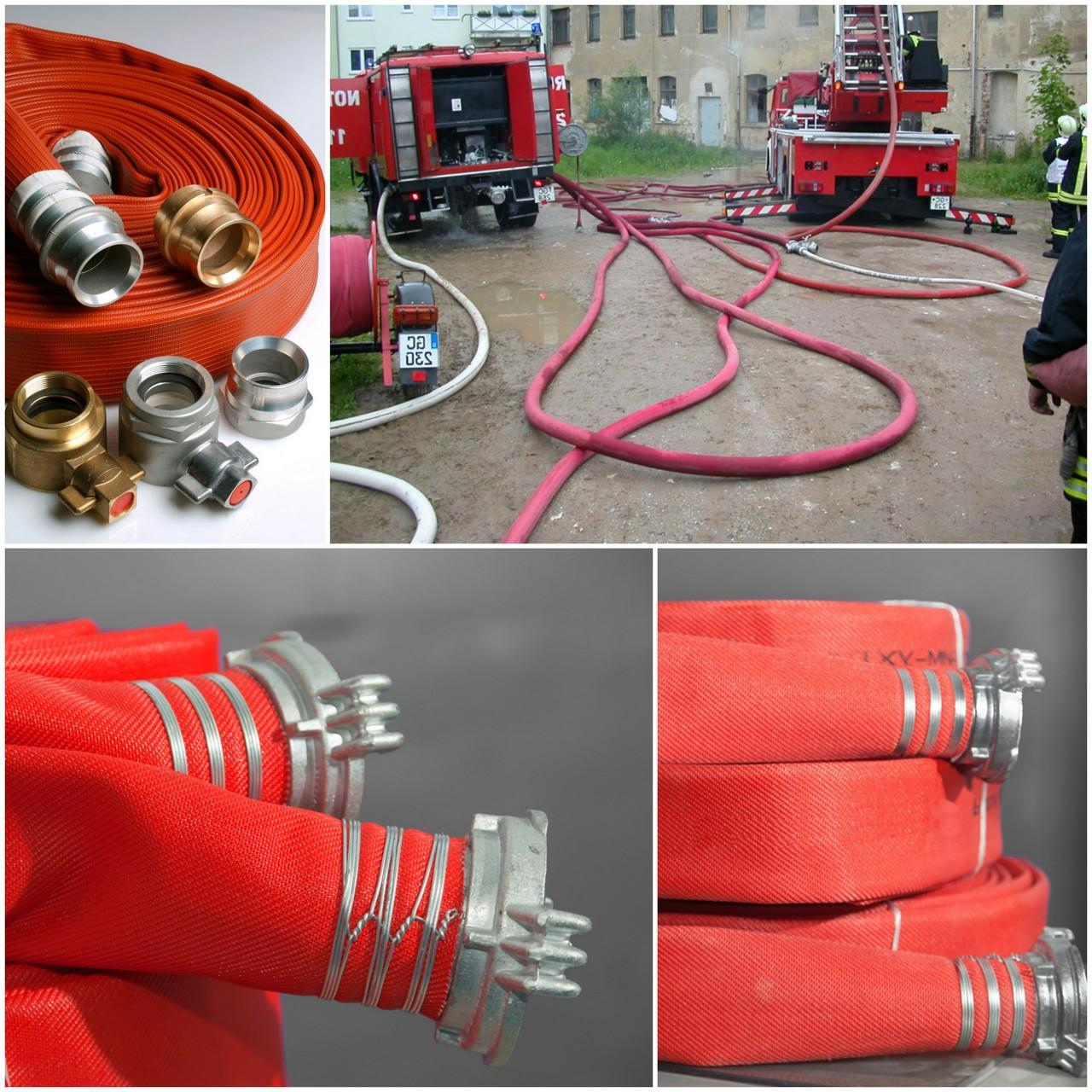 Основные виды пожарных рукавов