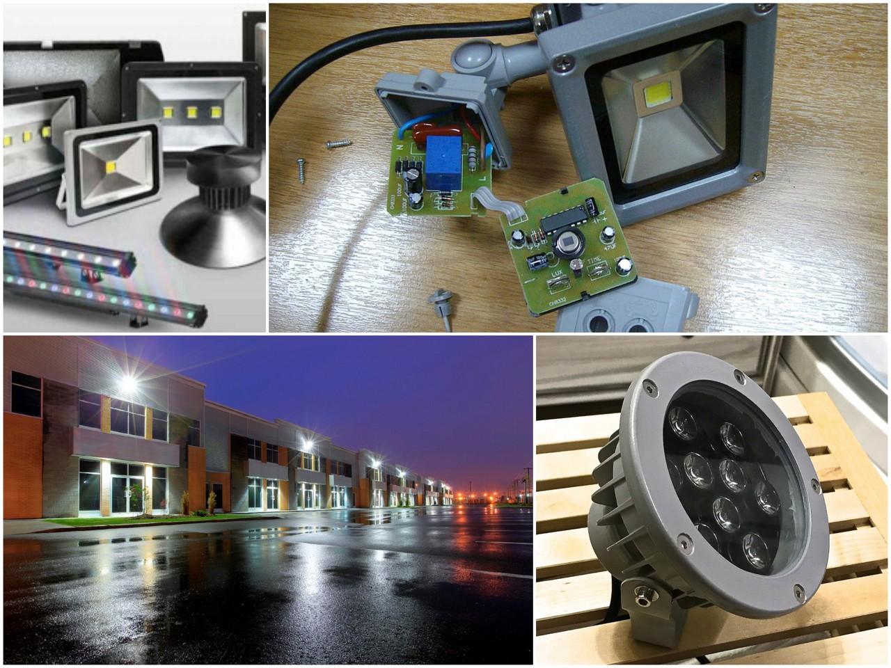 Светодиодный прожектор - область применения