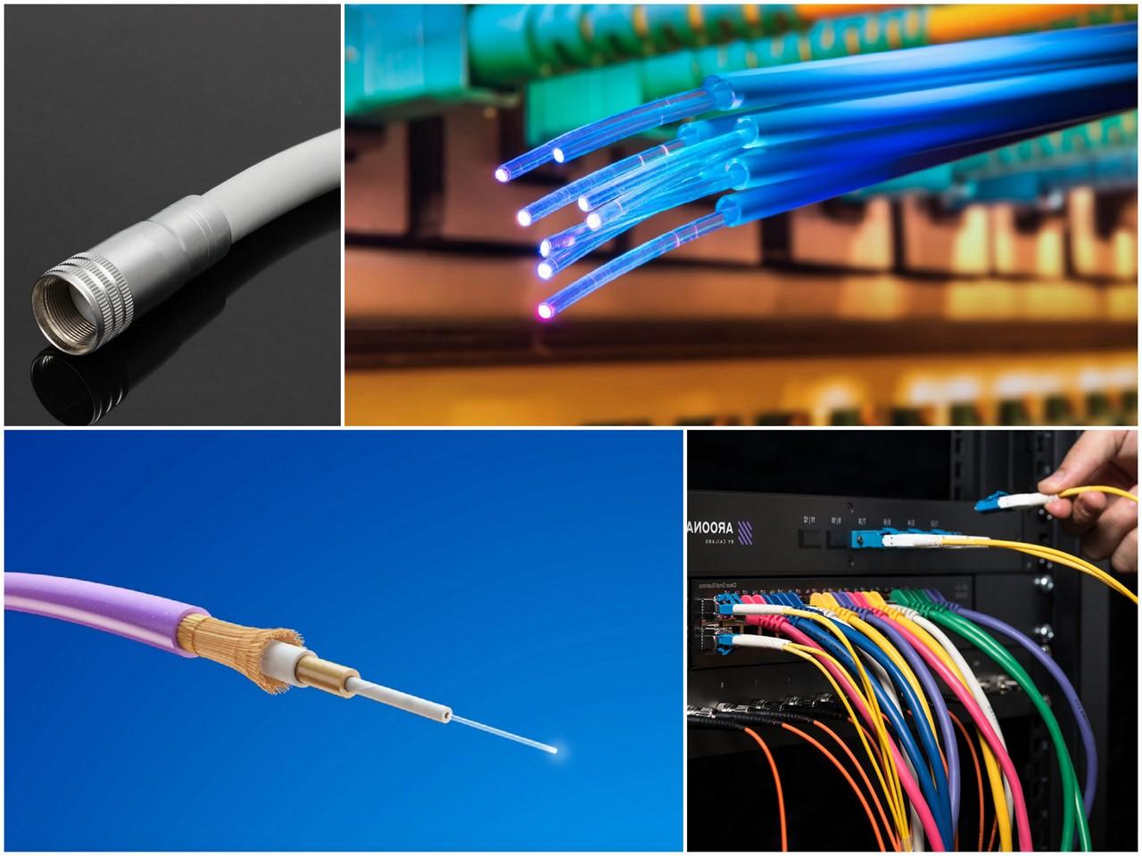 Свойства оптического кабеля