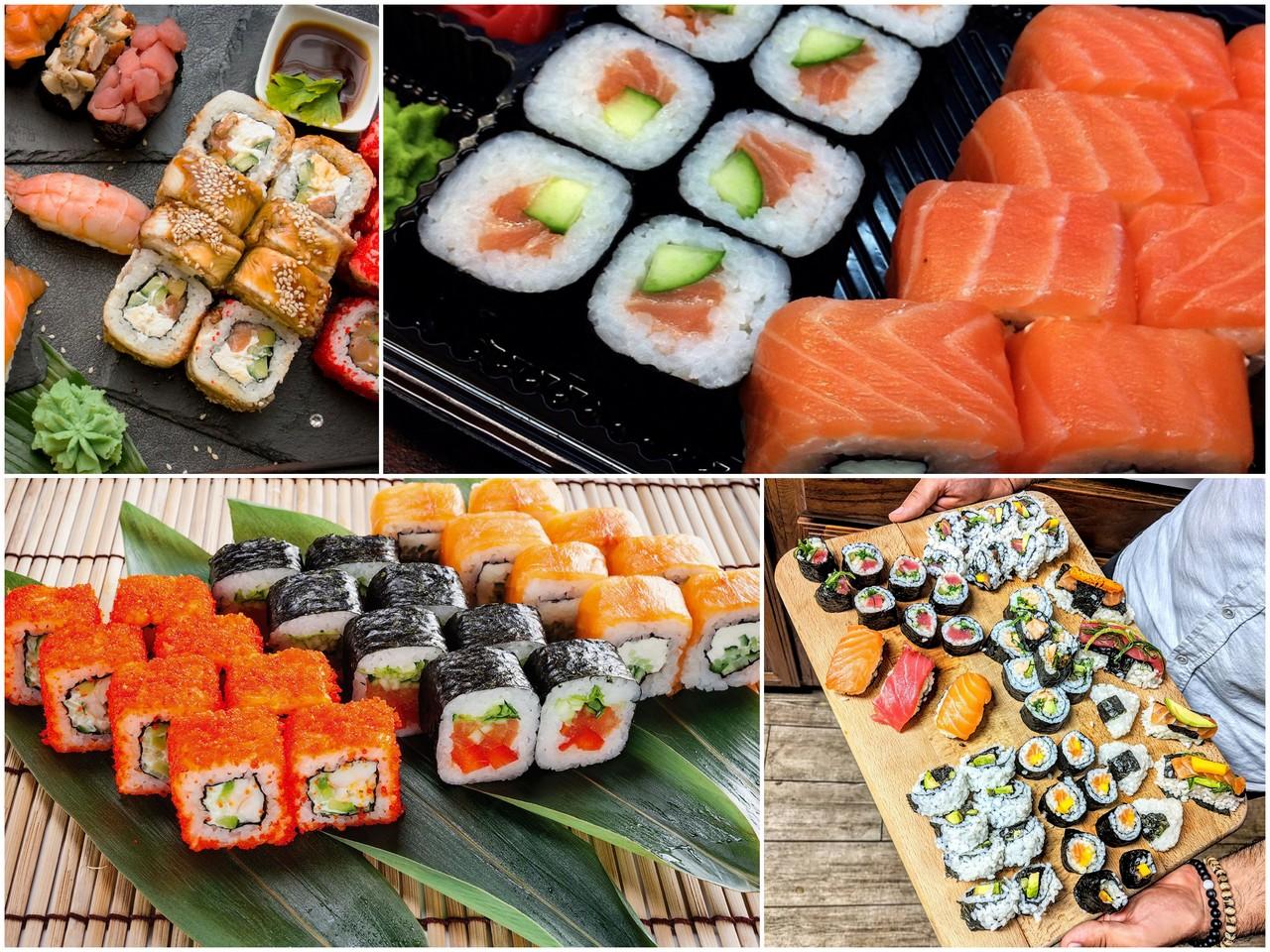 Как легко заказать суши и роллы на дом