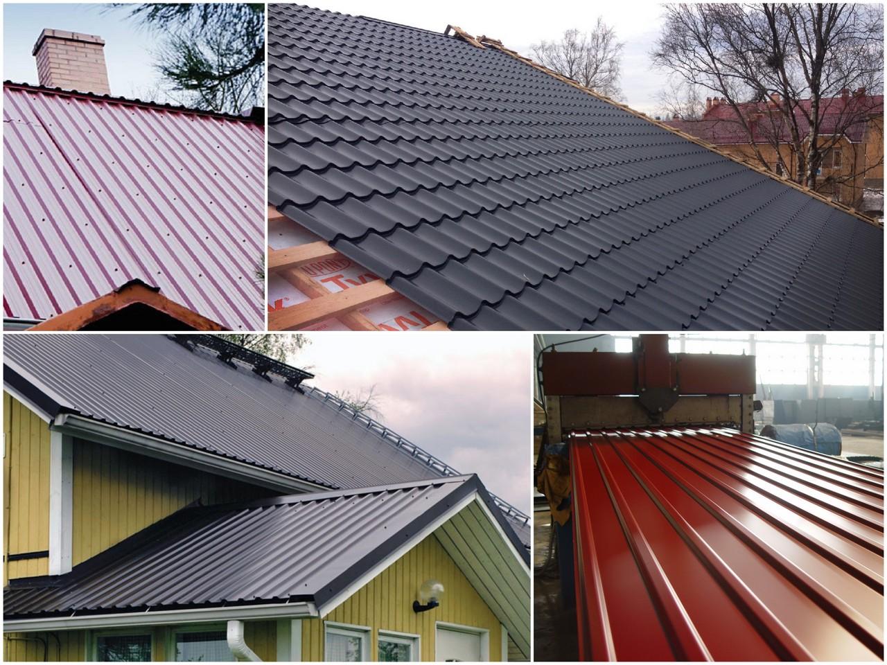 Как выбрать качественный профнастил для крыши