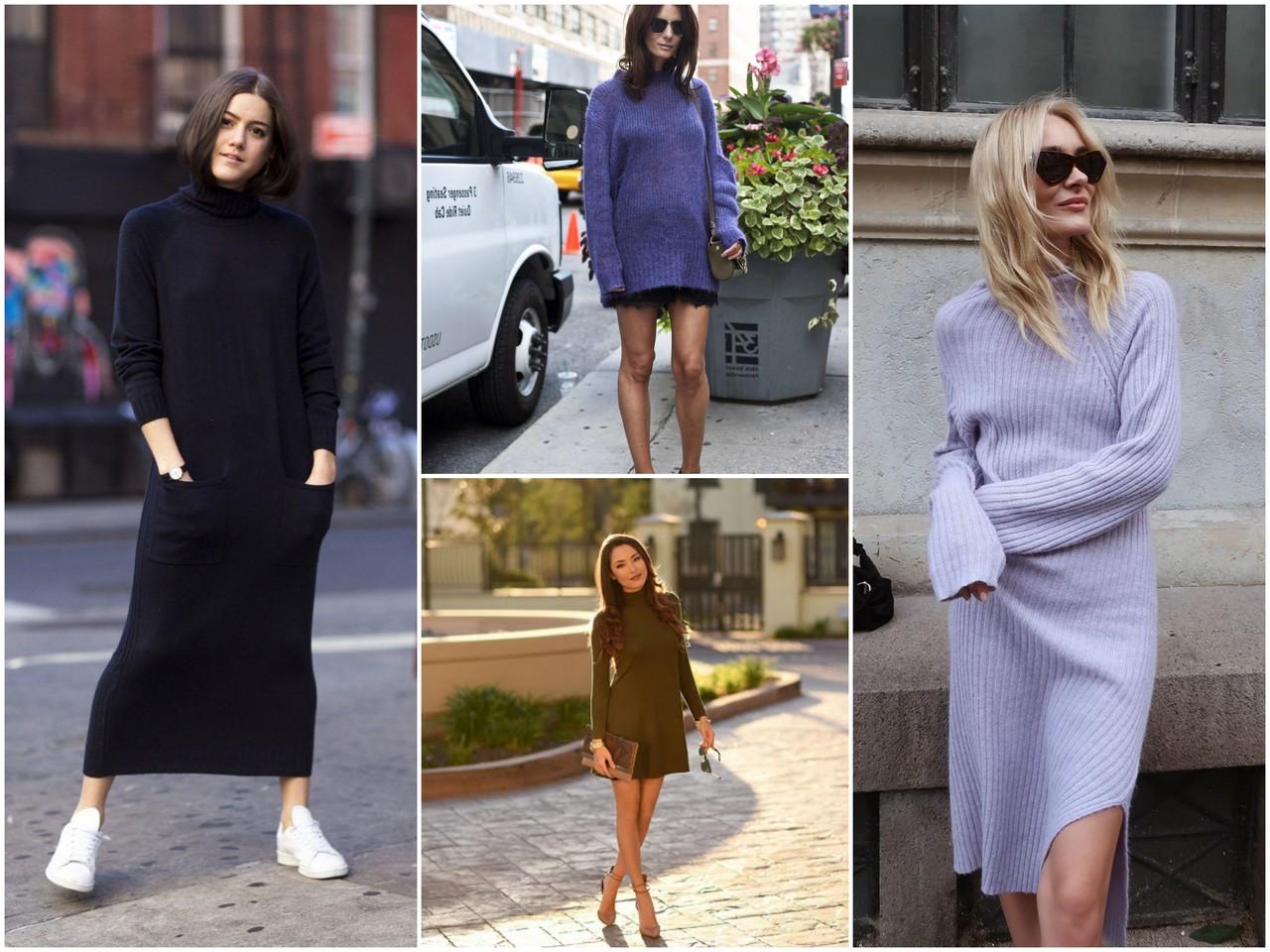 Трикотажные платья - какое выбрать