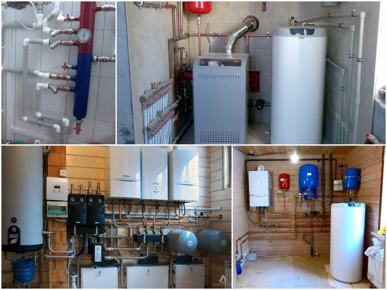 Виды оборудования для отопления