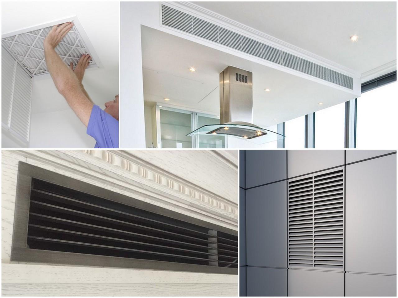 Жалюзийные вентиляционные решетки - особенности и преимущества