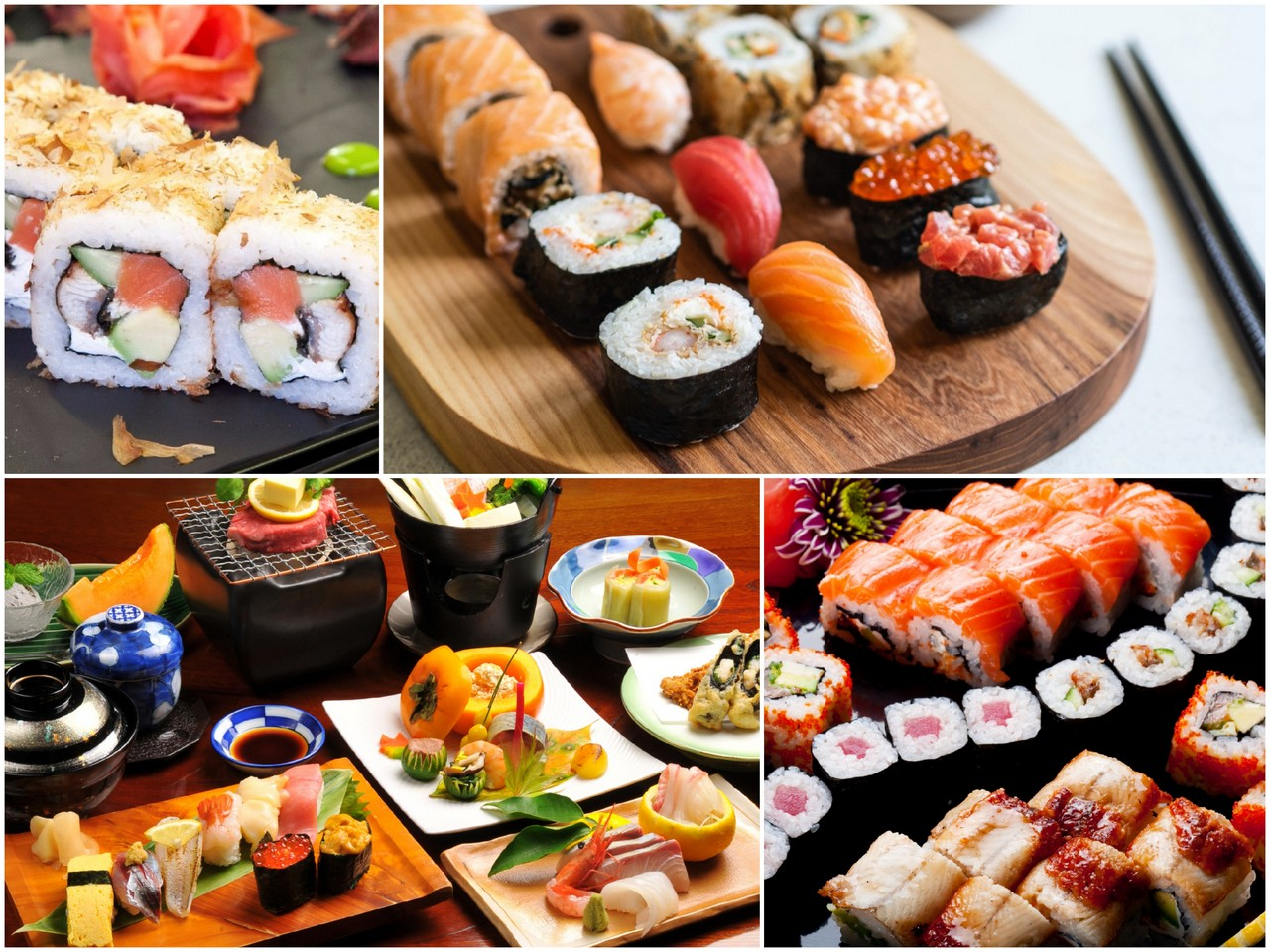 вкусные суши и роллы