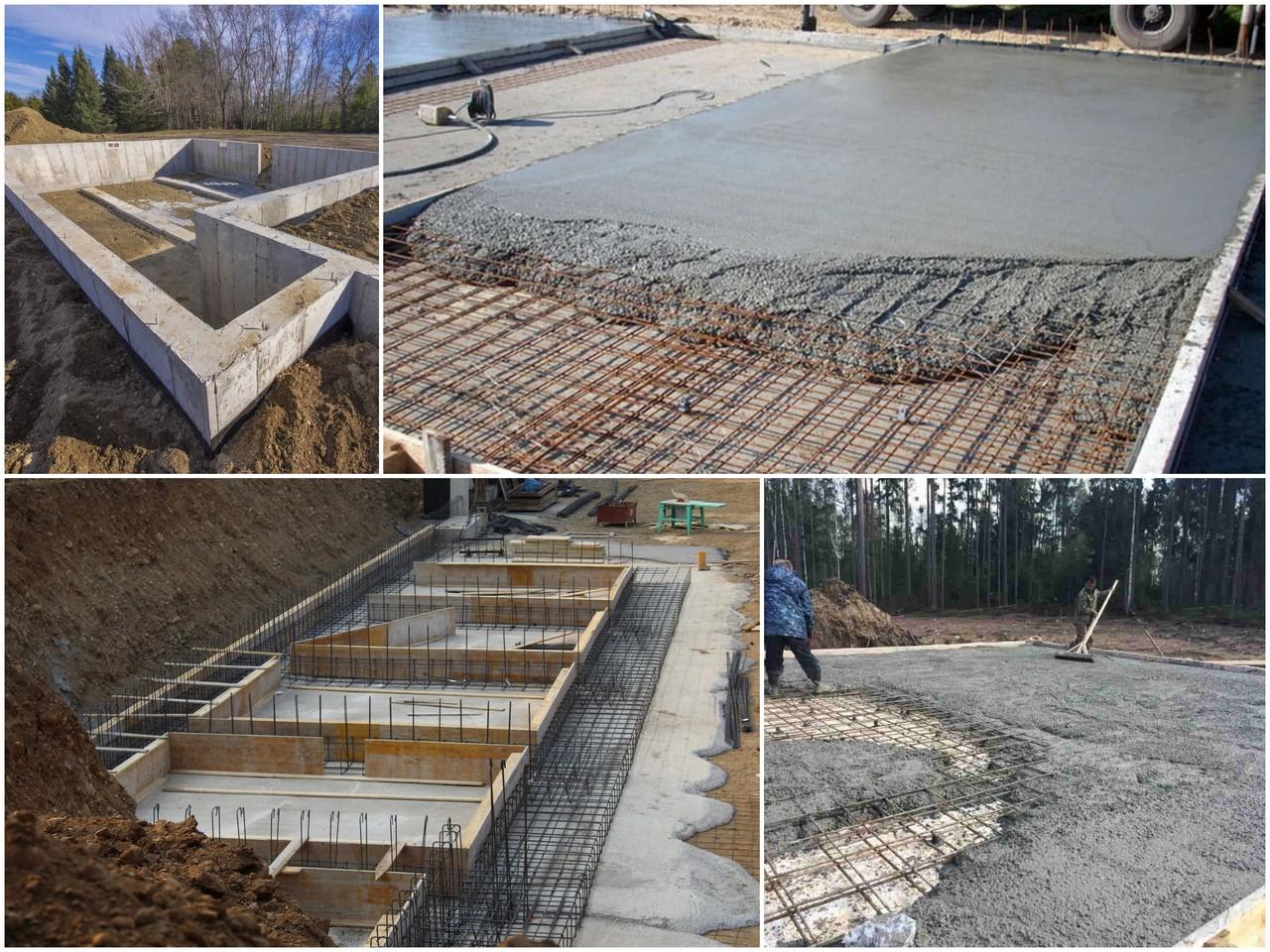 Делаем бетон для фундамента своими руками