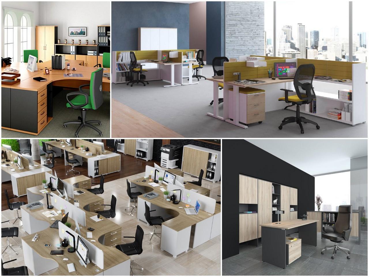 Какая мебель нужна в офисе