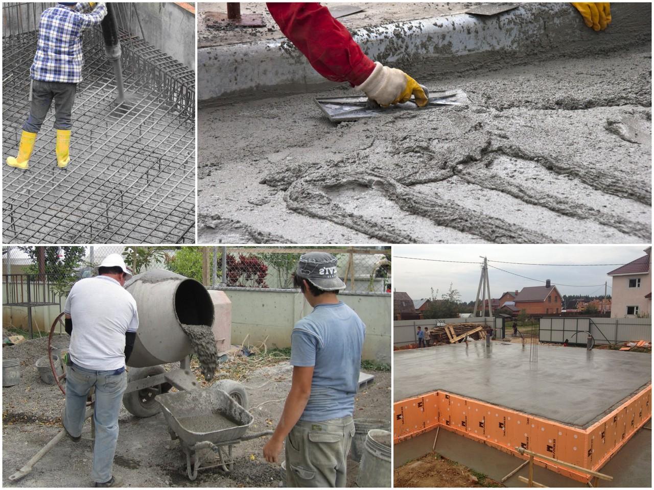 На что обратить внимание при изготовлении бетона
