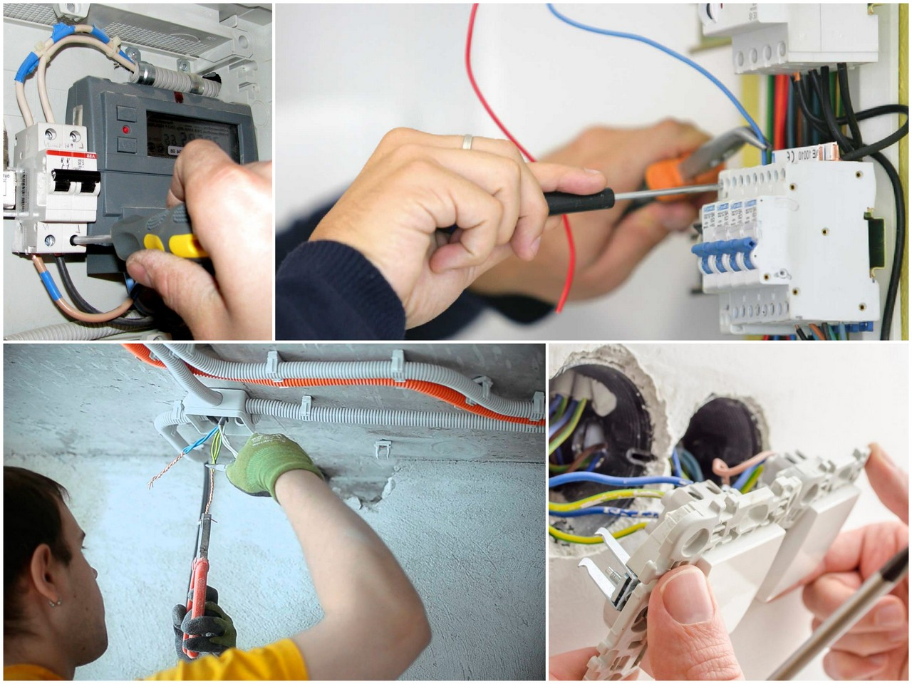Начинаем ремонт с электропроводки