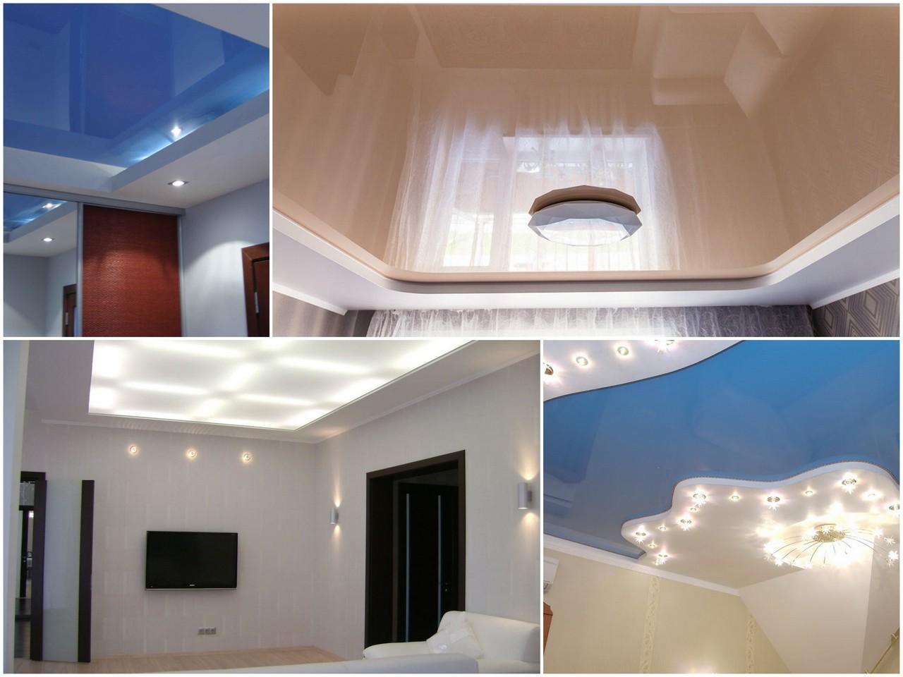 Натяжные потолки имеют уникальный дизайн и исключительный внешний вид