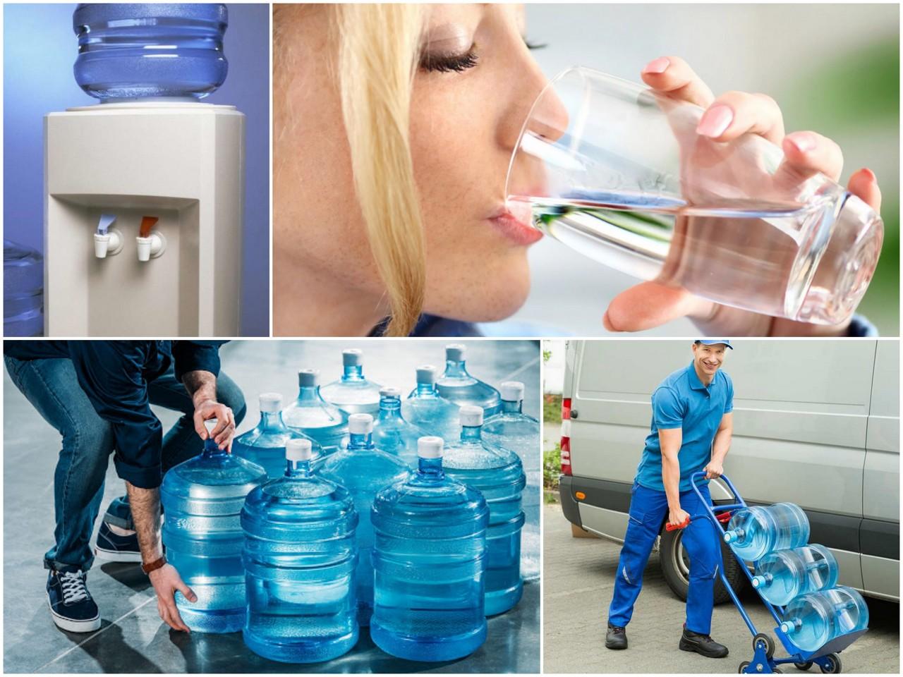 Преимущества услуги доставки воды