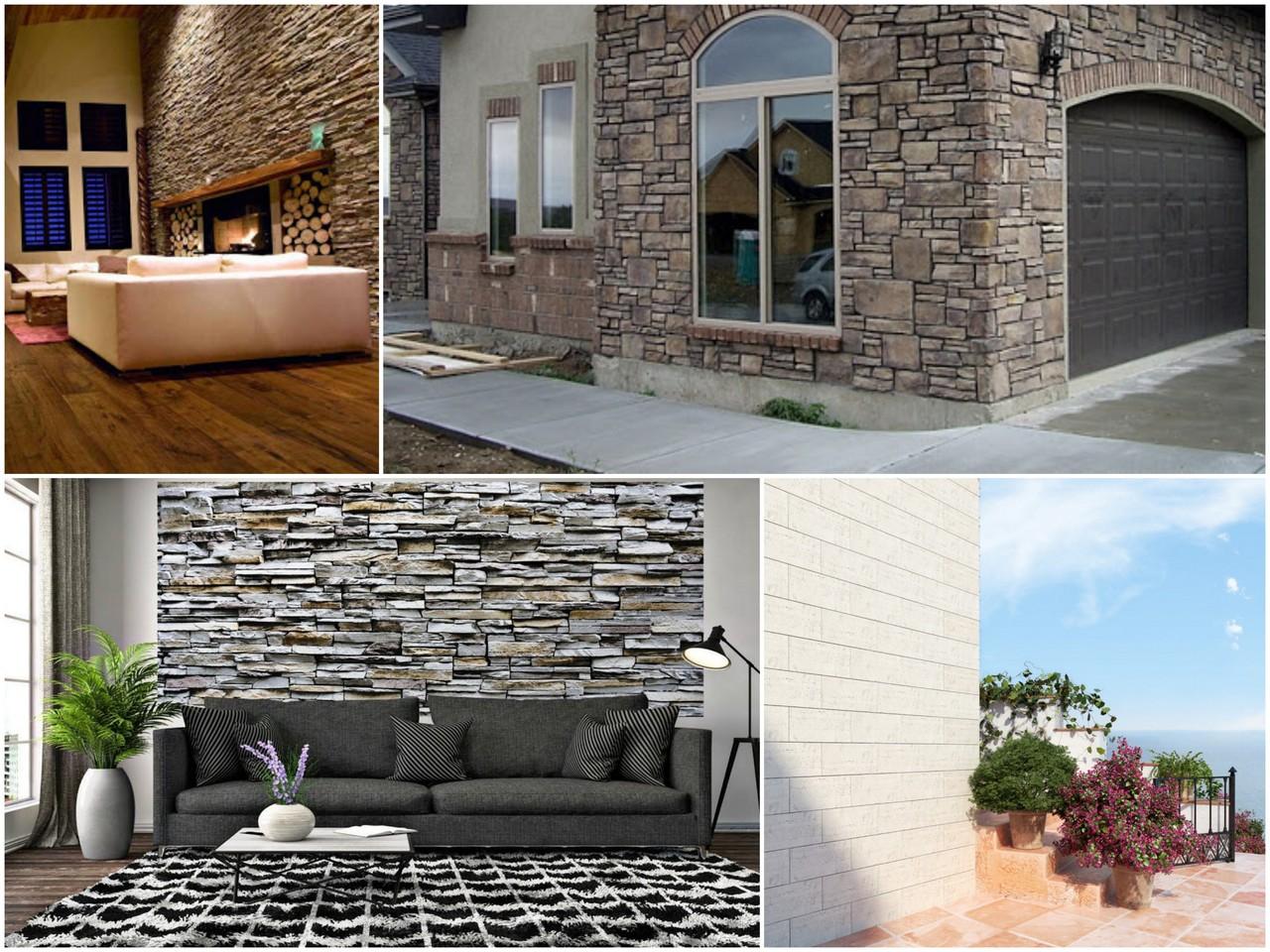 Применение искусственного камня в дизайне