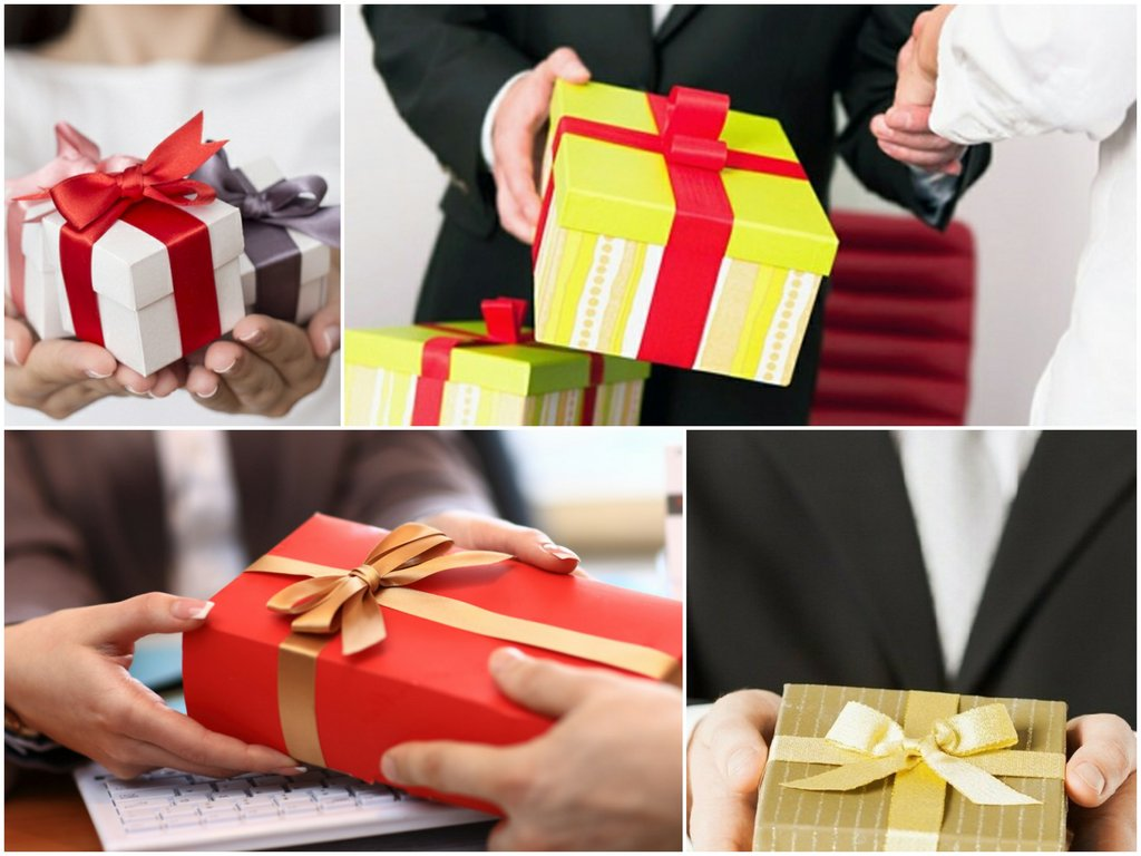 Подарки для коллег по работе
