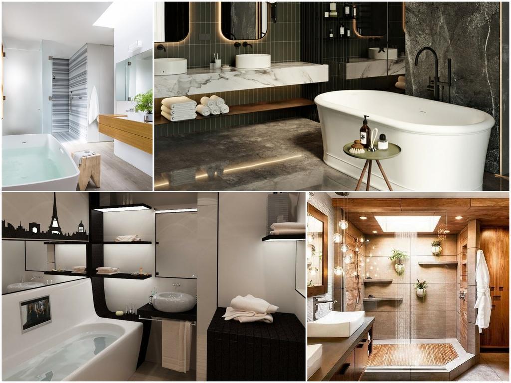 Современные тренды дизайна ванной