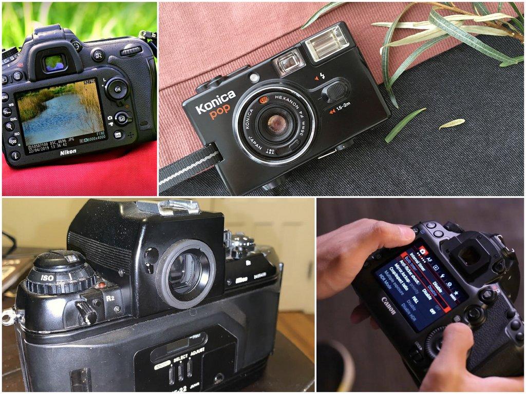 Выкуп фотоаппаратов - cпецифика работы