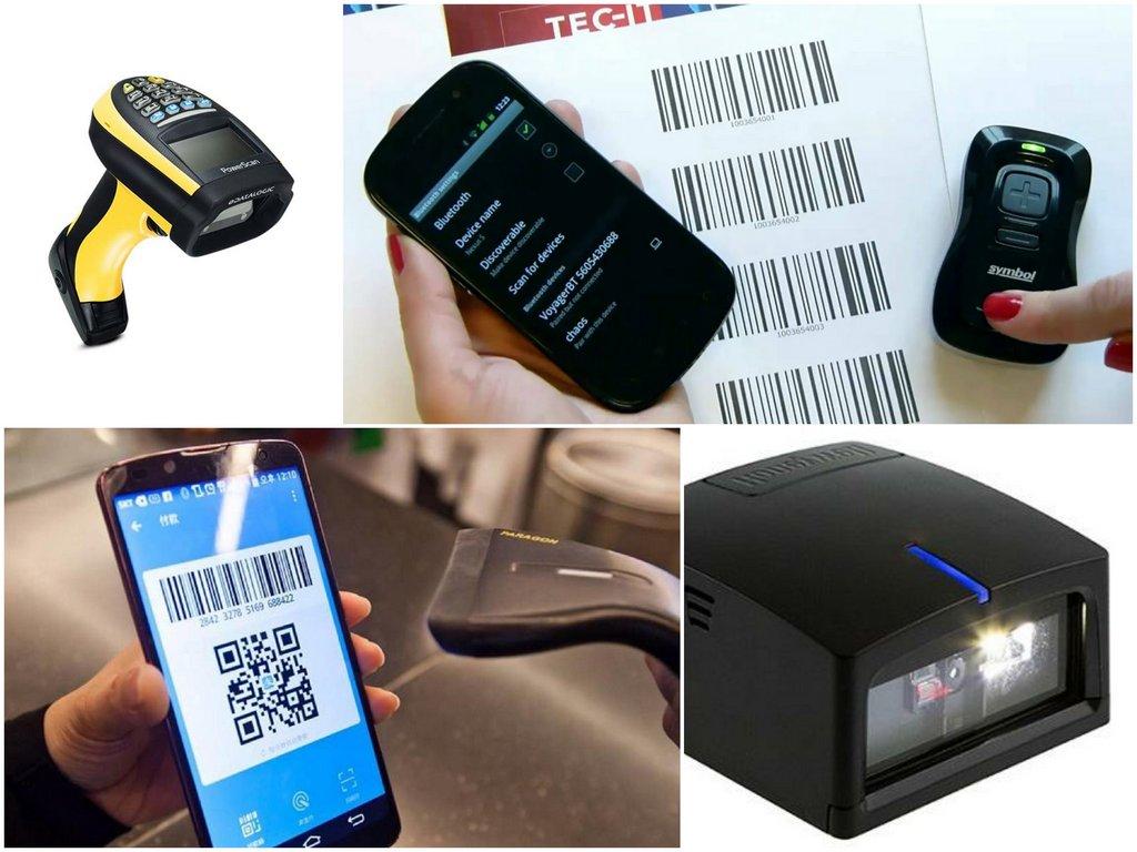 Как работает Bluetooth сканер штрих-кодов