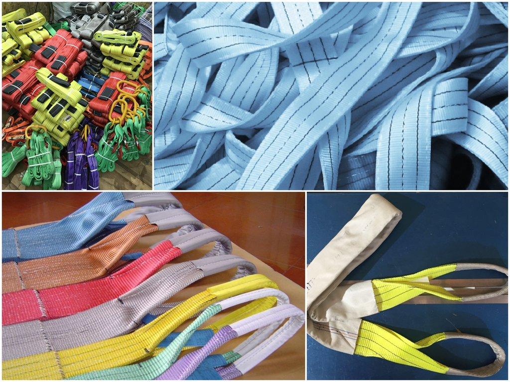 Особенности использования строп из текстиля