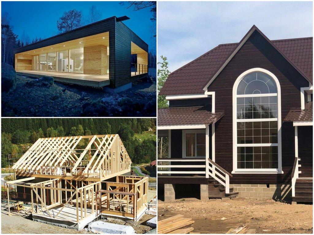 из чего строить дом для круглогодичного проживания