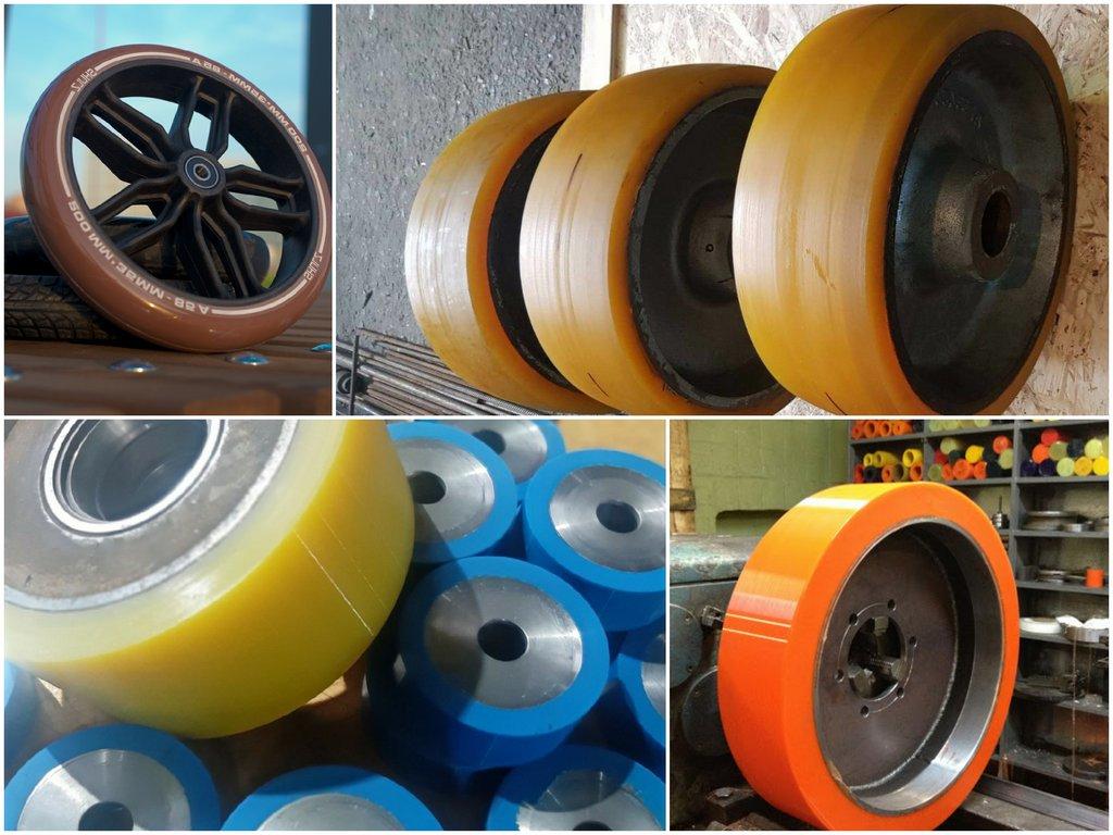 Как правильно подобрать полиуретановые колеса