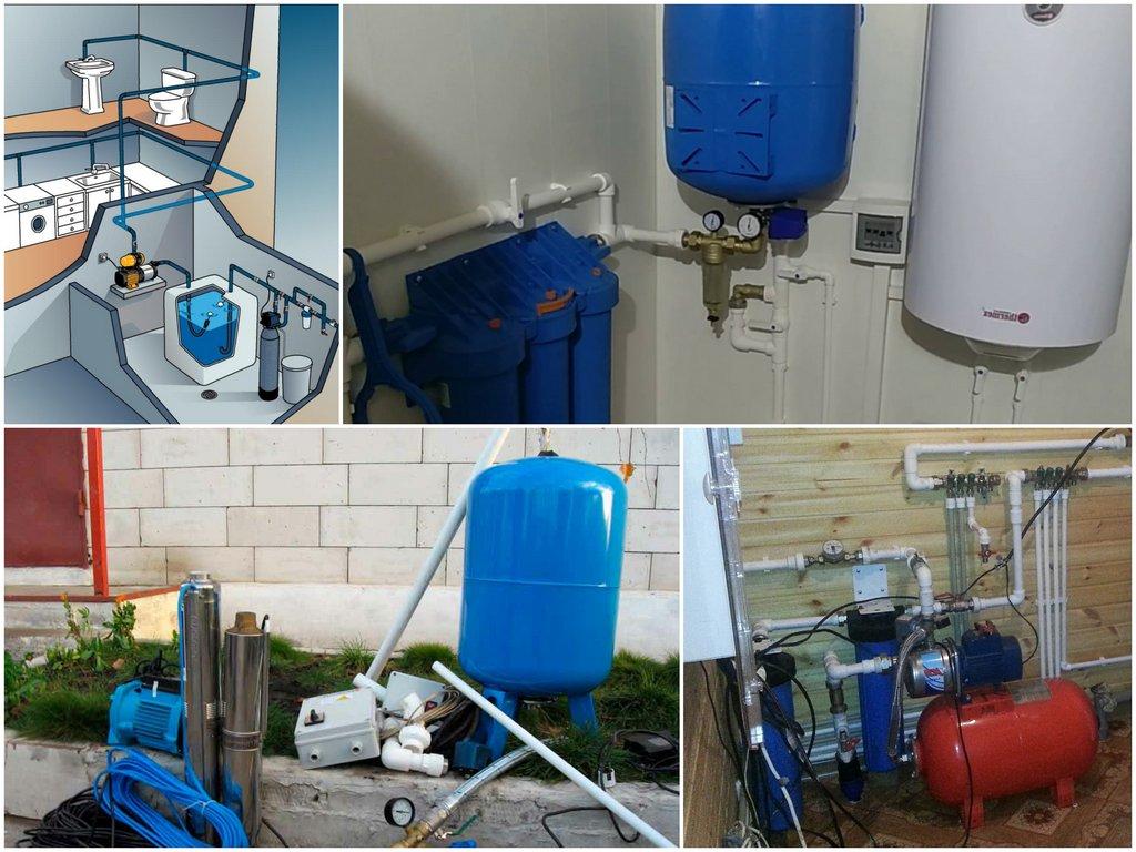 Как работает система водоснабжения