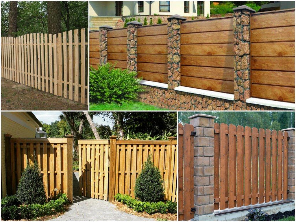 Строительство деревянного забора как построить и установить ограду на дачном участке