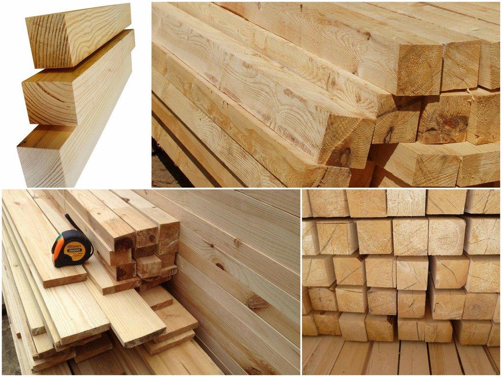 Виды бруса из древесины