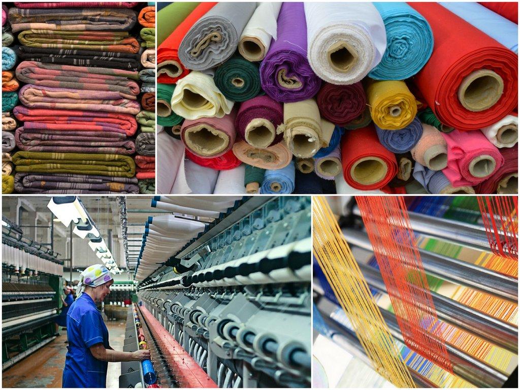 Этапы создания текстильной продукции