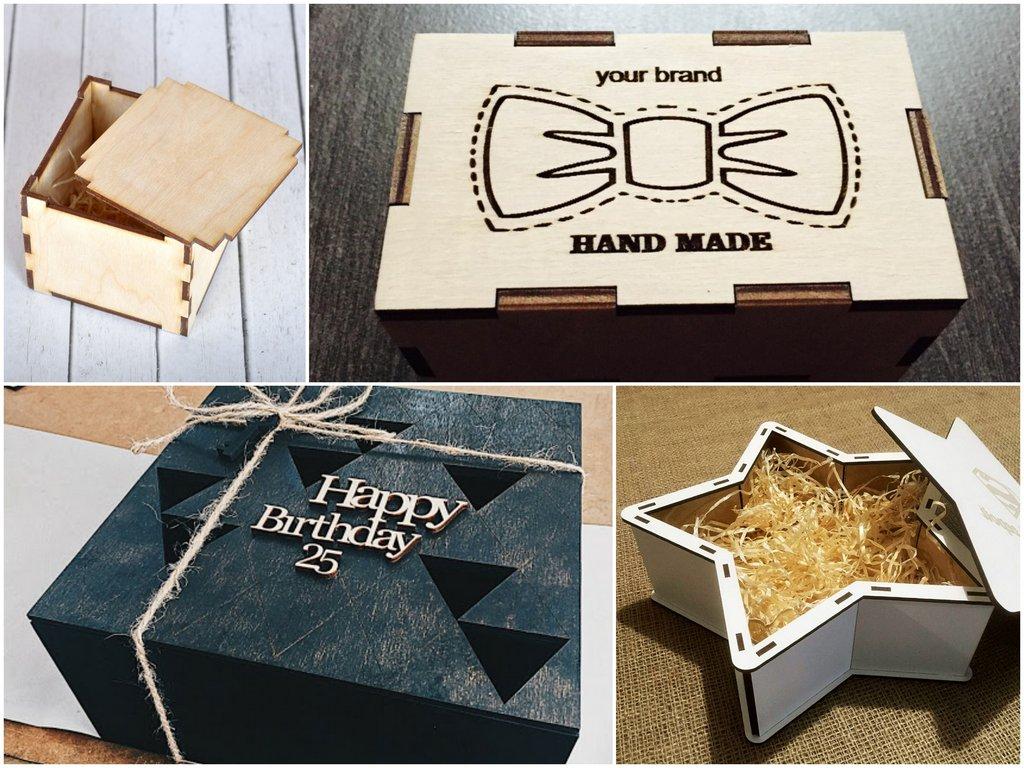 Какие бывают коробки из дерева