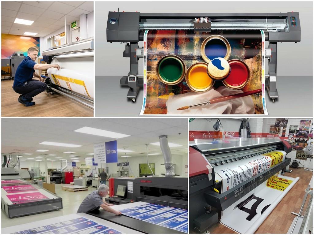 Виды материалов для печати баннеров