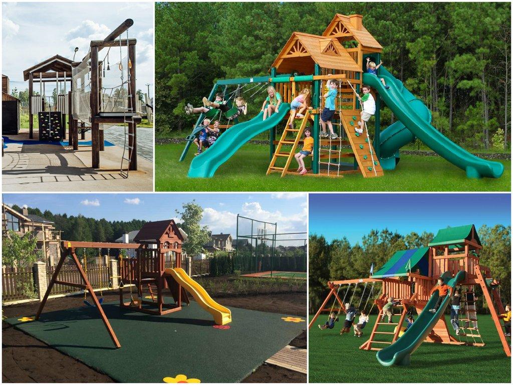 «Детские площадки» – широкий выбор продукции, высокое качество и доступные цены