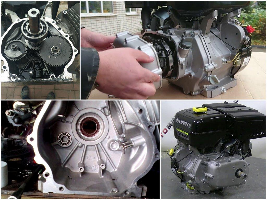 Как используется двигатель для мотоблока Lifan 190F