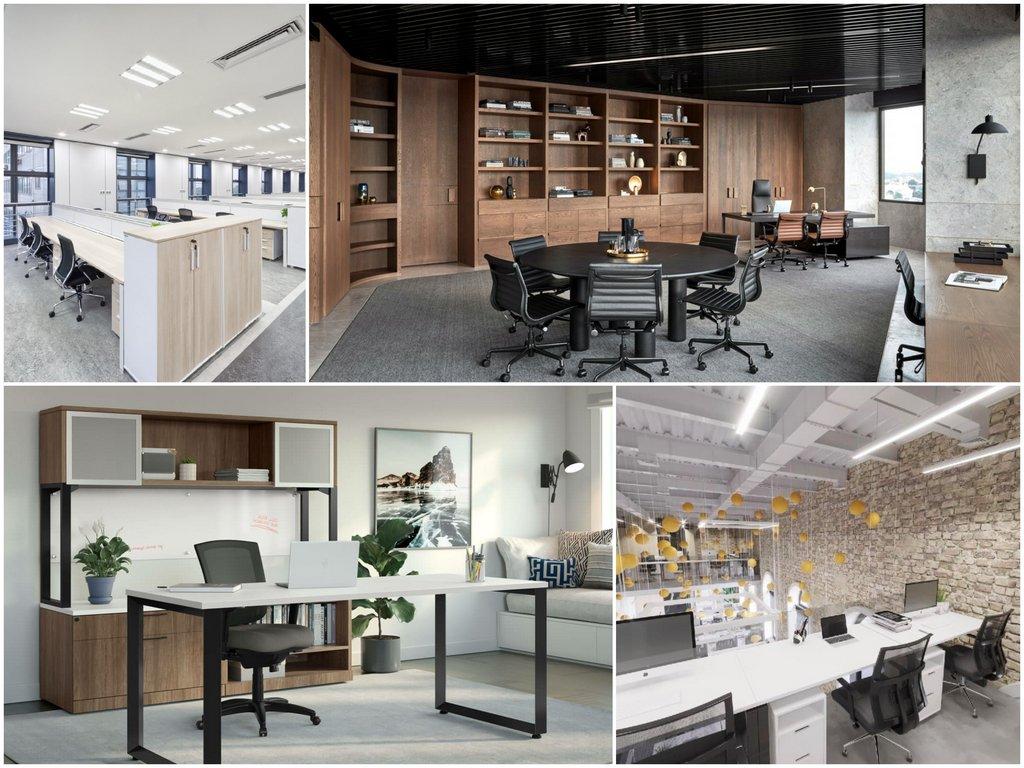 Какая мебель для офиса считается современной