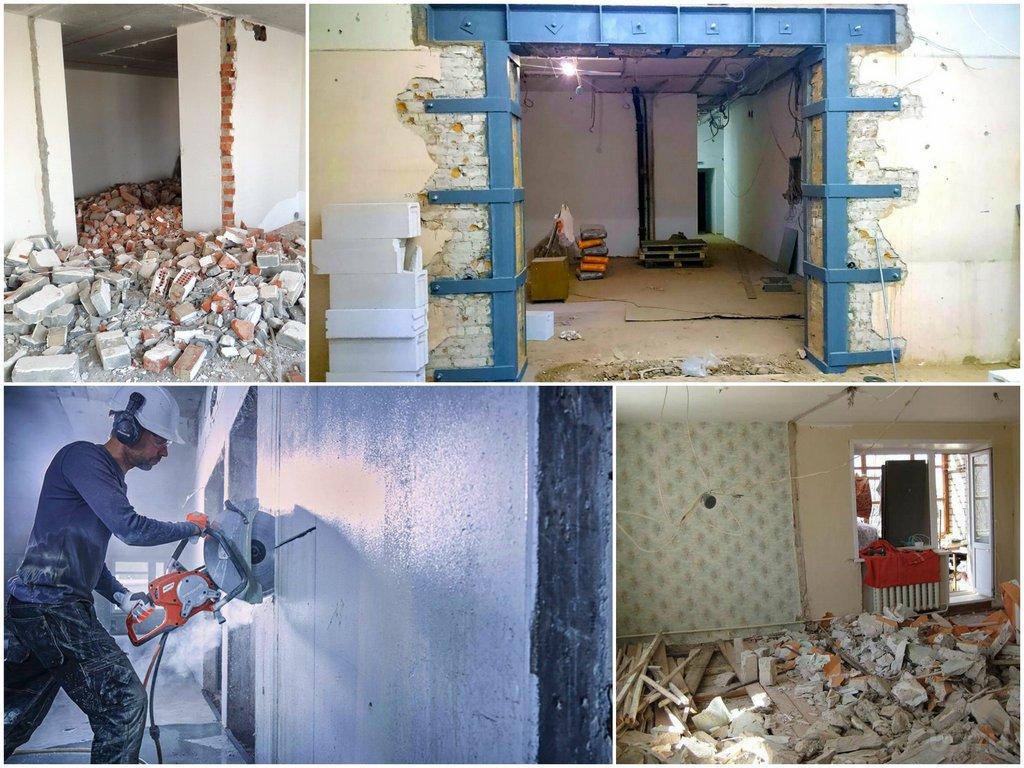 Какие стены в квартире можно сносить