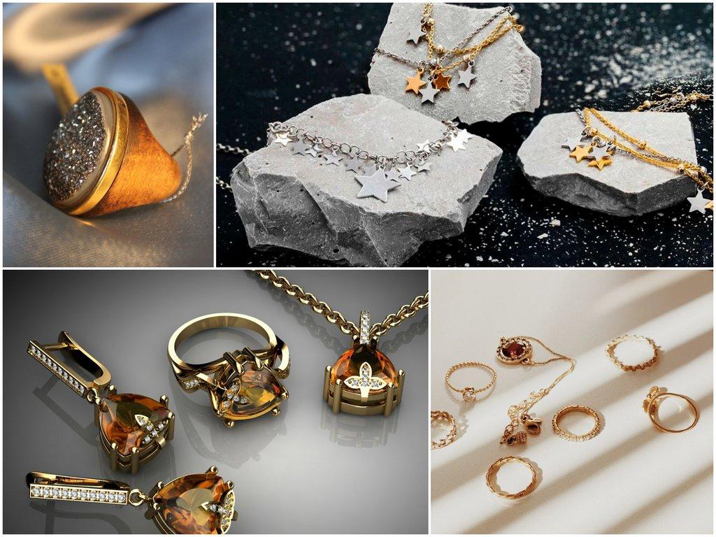 Какие украшения из драгоценных металлов более модные
