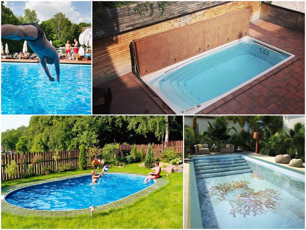 Какой бассейн для плавания выбрать для дома