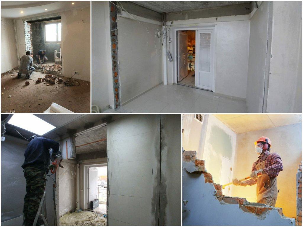 О технологиях демонтажа стен