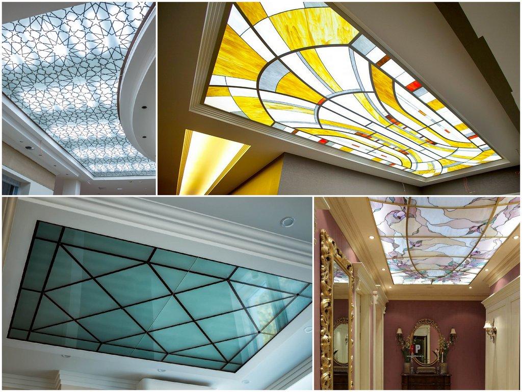 Почему стоит выбрать стеклянный потолок