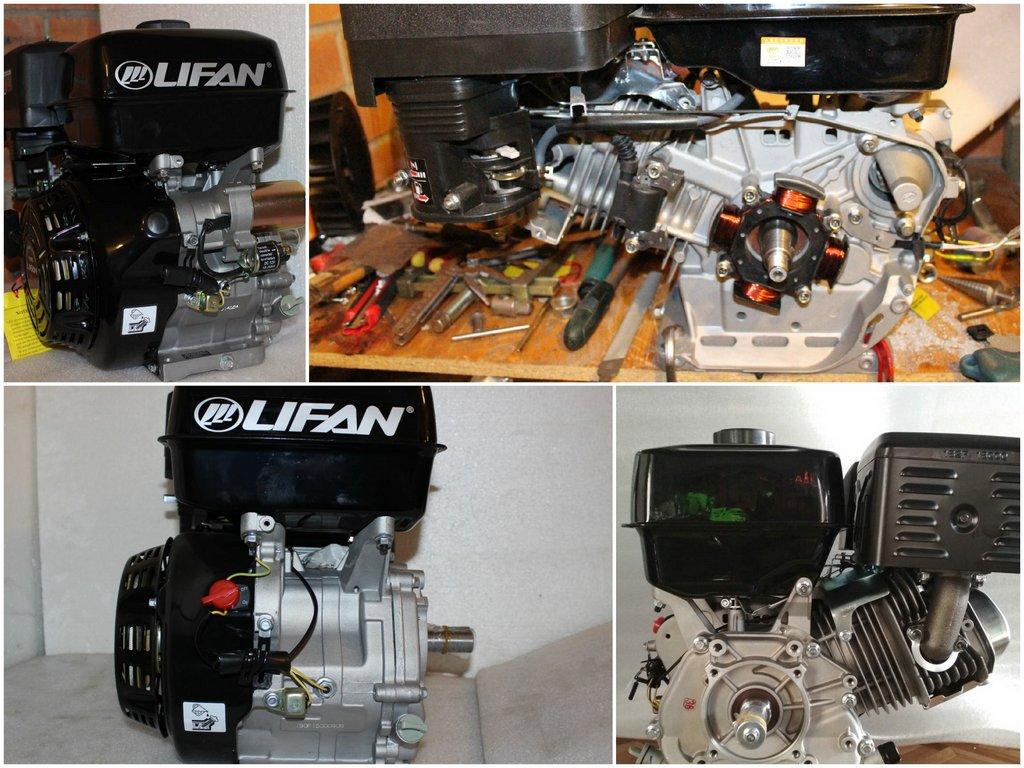 Преимущества двигателя Lifan 190F