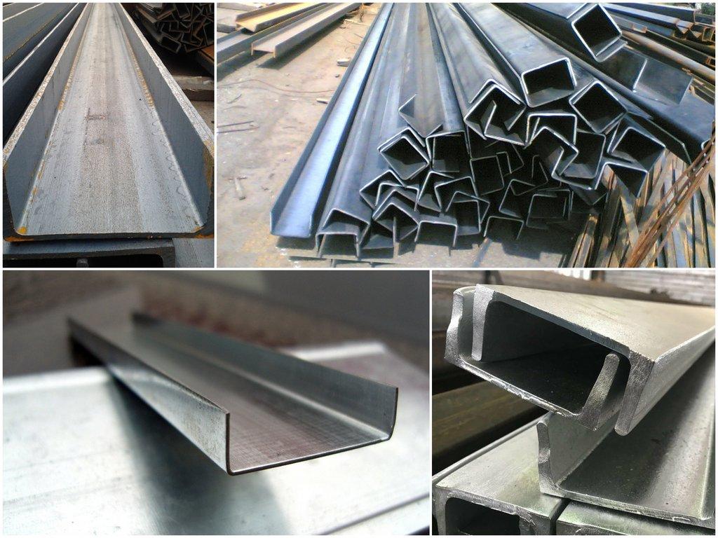Преимущества стальных швеллеров
