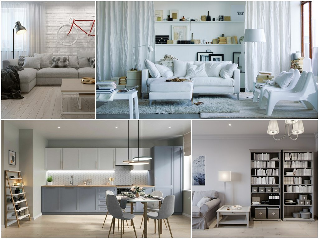 Особенности мебели в скандинавском стиле