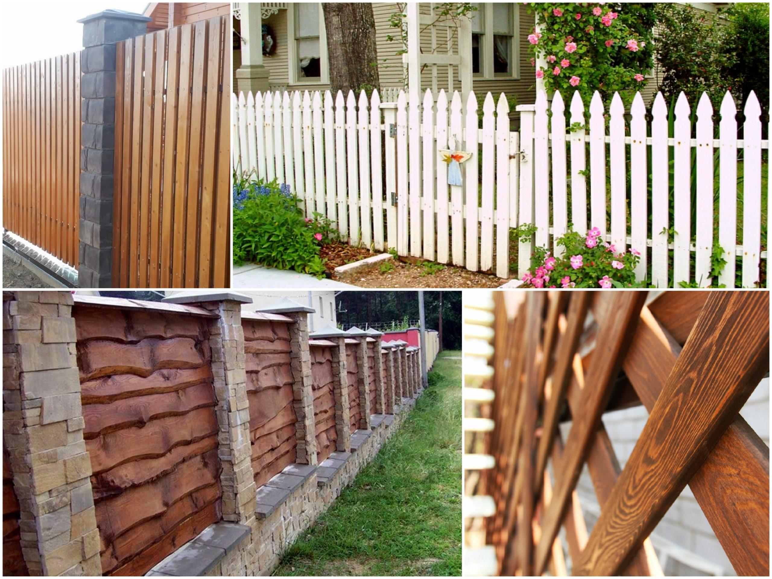 Почему выбирают деревянные заборы