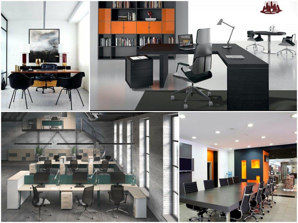 Стили и решения для офисной мебели