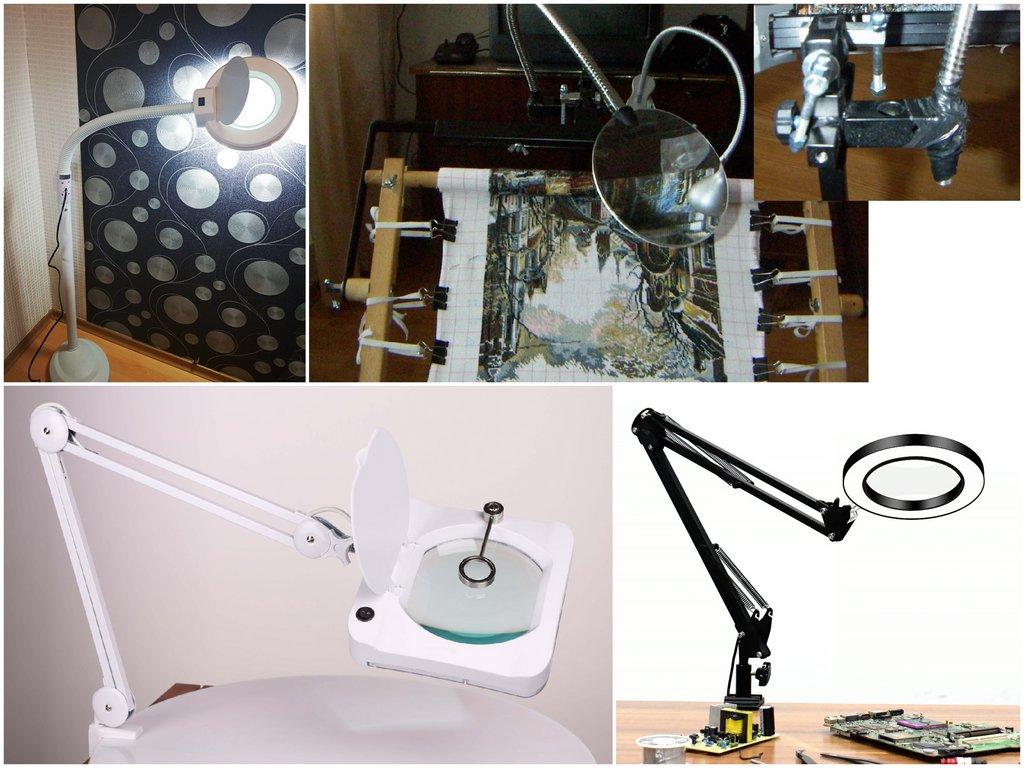 Выбор подсветки для лампы с лупой