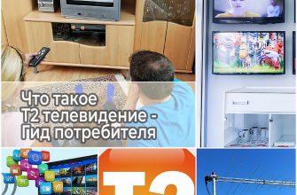 Что такое Т2 телевидение - Гид потребителя