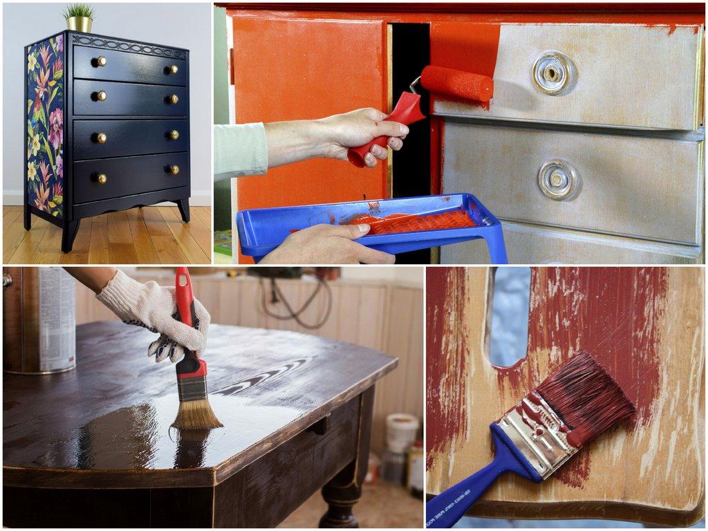 Процесс обновления мебели состоит из нескольких этапов