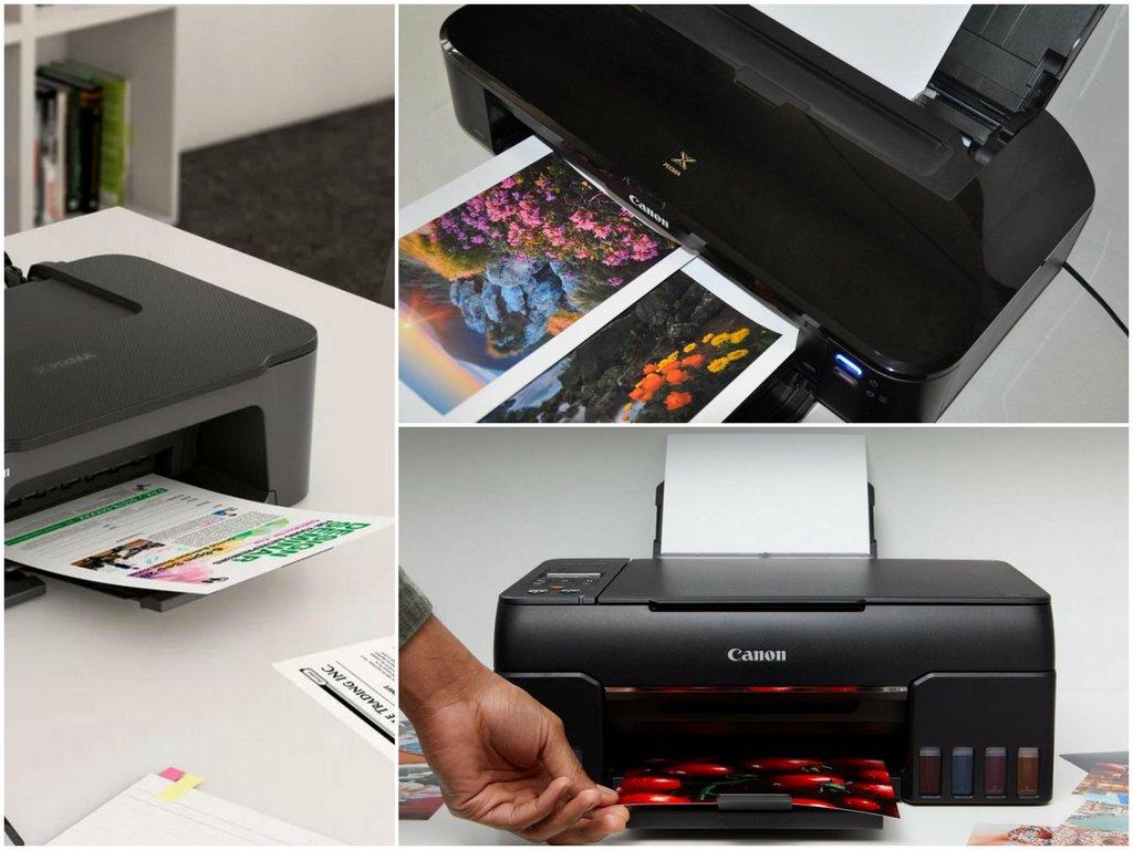 Струйные версии принтеров