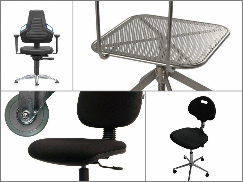 В чём основные особенности производственных стульев